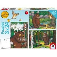 Schmidt Spiele Puzzle-Box mit Poster: Mein Freund der Grüffelo,