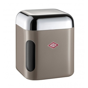 Vorratsdose grau-braun Kunststoff braun WESCO 321202-57 (DH 11x13 cm) WESCO