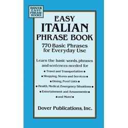 Easy Italian Phrase Book: eBook von