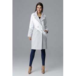 FIGL Mantel im modernen Design grau XL