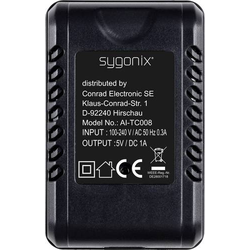 Sygonix SY-4286216 Überwachungskamera 64GB 4,3mm