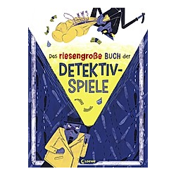 Das riesengroße Buch der Detektivspiele. Arianna Bellucci  - Buch