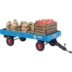 Busch 44995 H0 Anhänger mit Apfelladung