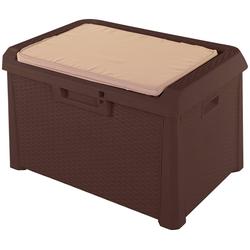 ONDIS24 Auflagenbox Santo Kompakt, 120 Liter, Kunststoff