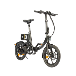 HOME DELUXE E-Bike BUMBEE, Automatikschaltung, 250,00 W schwarz