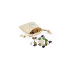 Natures-Design Edelstein Mischung Relax für Krüge & Karaffen mit Edelsteinfach, (50 g)