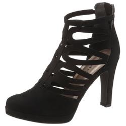 Tamaris High-Heel-Stiefelette im sommerlichen Design schwarz 37