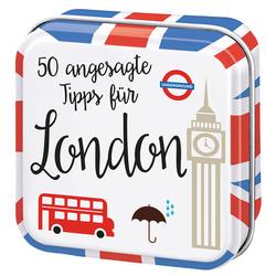 50 angesagte Tipps für London als Buch von