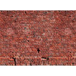 living walls Fototapete Klinker Backstein, glatt, (1 St), 350 x 255 cm