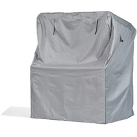 Schutzhüllenprofi Schutzhülle für Strandkorb aus Polyester Oxford 600D lichtgrau Größe 137cm