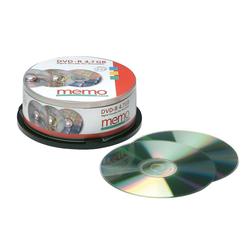 25 memo DVD-R auf der Spindel, 16x