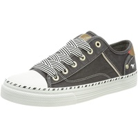 MUSTANG Shoes Sneaker, mit 3 cm Plateausohle schwarz 36