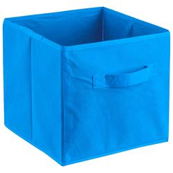 ADOB Aufbewahrungsbox Faltbox, (1 St.), Faltbox mit Griff blau Kleideraufbewahrung Aufbewahrung Ordnung Wohnaccessoires
