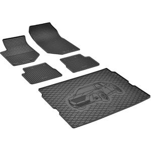 Passgenaue Kofferraumwanne und Gummifußmatten geeignet für Peugeot 2008 ab 2020