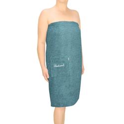 Kilt Lausanne, Lashuma, mit Tasche und Knöpfen für die Dame blau S