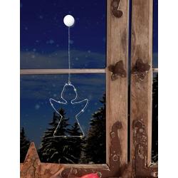 Polarlite LBA-50-014 LED-Fensterbild Engel LED Transparent