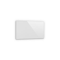 Klarstein Infrarotheizung Crystal Wall Infrarotheizung 100x60cm 600W Wochentimer IP54 weiß