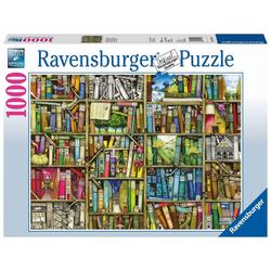 Ravensburger Puzzle Magisches Bücherregal. Puzzle 1000 Teile, Puzzleteile