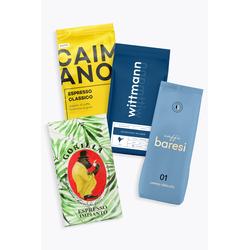 Aus unserer Werbung Kaffeebohnen für Vollautomaten - Probierpaket 4 x 1kg