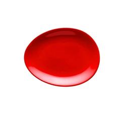 Colani Teller Luigi Colani Teller / ab ovo, (1 Stück) rot