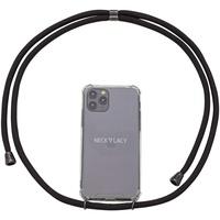 NECKLACY Case Black iPhone SE (8/7)