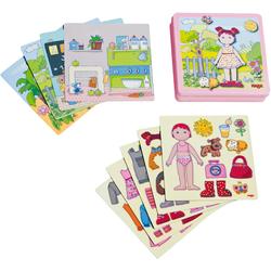 Haba Puzzle Anziehpuppe Lilli bunt Kinder Ab 3-5 Jahren Altersempfehlung