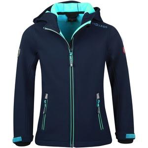 TROLLKIDS Trollfjord Jacke Mädchen blau 110 2021 Softshelljacken