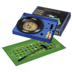Roulette Set mit Kunststoff-Teller 30c Philos Roulette Set mit Kunststoff-Teller 3701