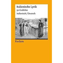 Italienische Lyrik  Italienisch-Deutsch - Buch