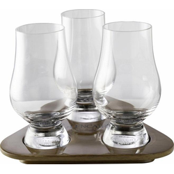 Stölzle Whiskyglas Glencairn Glass, (Set, 3 tlg.), Höhe 11,5 cm, Inhalt 190 ml, 3-teilig farblos Kristallgläser Gläser Glaswaren Haushaltswaren