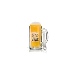 Ritzenhoff & Breker Bierglas Bier ist mehr Geschenkset Bierkrug und Öffner, Glas