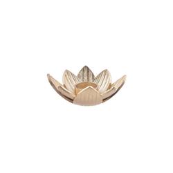 BUTLERS Teelichthalter GOLDEN NATURE Teelichthalter Lotus Ø17cm