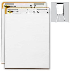 Post-it® Flipchart-Papier blanko
