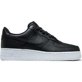 Nike Men's Air Force 1 '07 black/ white, 45
