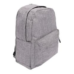 Egomaxx Rucksack 2897, Rucksack für Mädchen und Jungen grau