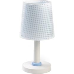 Dalber Nachttischlampe Tischlampe Vichy, blau blau