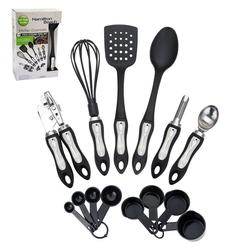 Hamilton Beach 14pc Kitchen Tool and Gadget Set - Black