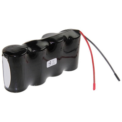 Saft 4,8 Volt AkkuPack NiCd Mono D Akku F1x4 Saft VT D mit Kabel