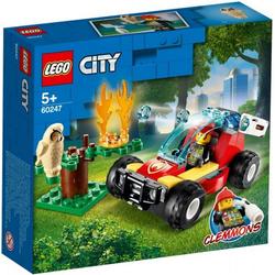 LEGO® Puzzle LEGO® City 60247 Waldbrand, Puzzleteile