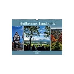 Heilbronner Landpartie (Wandkalender 2021 DIN A3 quer)