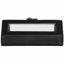 Windrose Nappa Horlogebox 23 cm leer schwarz
