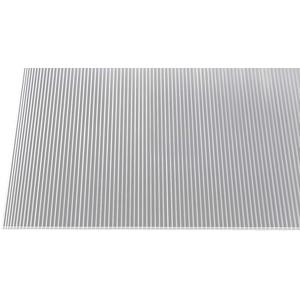 Gutta Polycarbonat Stegplatten Hohlkammerplatten klar 1500 x 700 x 6 mm (1500 mm x 700 mm)