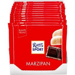 Ritter Sport Marzipan Schokolade 100 g, 12er Pack