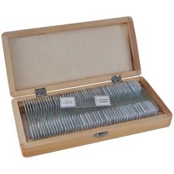 BRESSER Mikroskop Dauerpräparate 50 Stück/Box