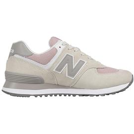 NEW BALANCE WL574 beige-pink/ white, 37