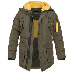 Poolman Rockwood Hooded Parka (Sale) oliv, Größe M