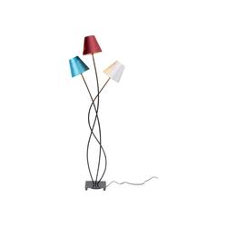 KARE Stehlampe Stehleuchte Flexible Velvet Schwarz Tre