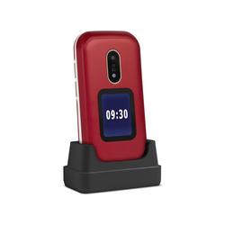 Doro 6060  Klapp Handy ohne Vertrag rot