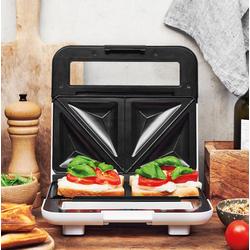 Gastroback Sandwichmaker 42443 Design, 750 Watt, Sandwichmaker, 93403400-0 weiß weiß