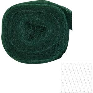 Xclou 360755 Pflanzenschutznetz Vogelschutznetz, grün-schwarz